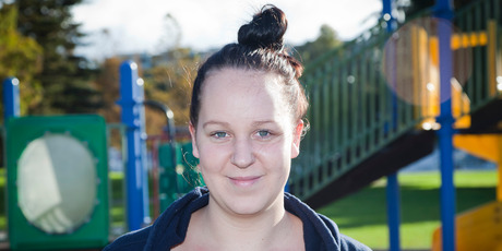 """I'd spend far more on housing as there's lots of homeless people out there, especially families."" Caitlin McDonald, 28, Katikati."