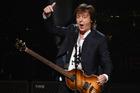 Former Beatles musician, Paul McCartney. Photo / AP