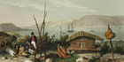 Artist Augustus Earle, who painted this scene titled A Ramble Ashore, wrote of gentle, caring and good-humoured fathering in Maori families.
