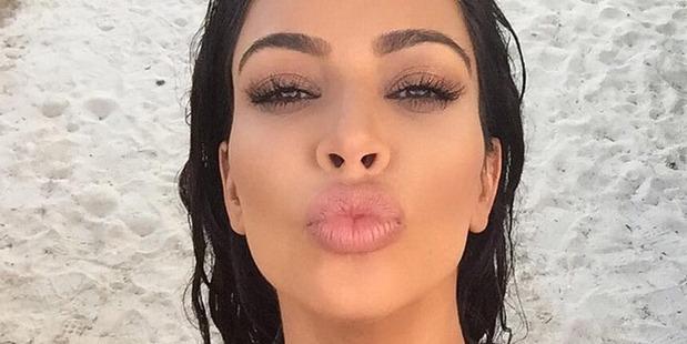 Kim Kardashian: the queen of the selfie. Photo / Instagram