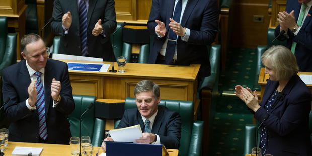 "Loading The Government's ""boring"" Budget could pave the way for National to take big tax cuts to next year's election, Prime Minister John Key says. Photo / Mark Mitchell"
