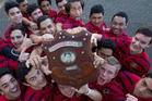Rotorua Boys' High School 2nd XV will look to keep hold of the Te Kani Shield tomorrow when they take on Western Heights High School in the semifinal. Photo / Stephen Parker