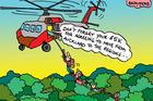 Cartoon: $5k for leaving Auckland