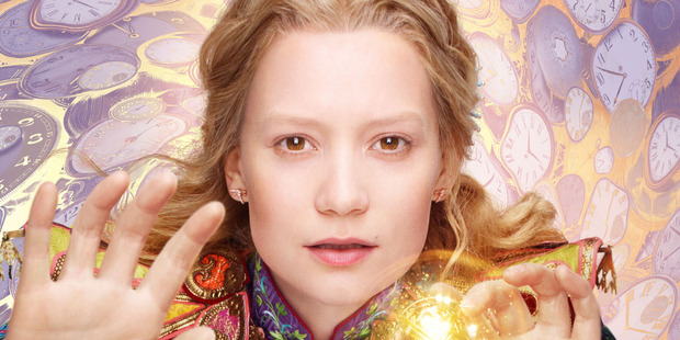 Loading Mia Wasikowska is Alice in Alice Through the Looking Glass.