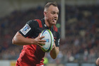 Israel Dagg of the Crusaders. Photo / Getty Images.