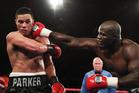 New Zealand Heavyweight boxer Joseph Parker v French Cameroon boxer Carlos Takam. Photo / Photosport.co.nz