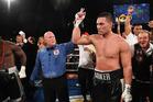 New Zealand Heavyweight boxer Joseph Parker v French Cameroon boxer Carlos Takam. Photo / Andrew Cornaga / www.photosport.nz