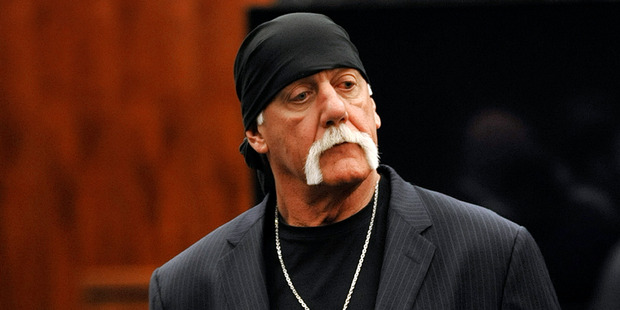 Hulk Hogan was awarded US$140 million in March over a sex tape Gawker published in 2012. Photo / AP