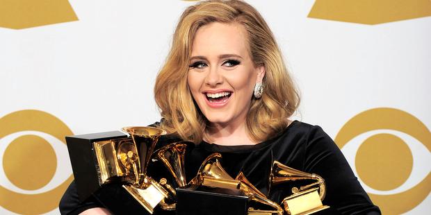 Adele is already worth $US85 million. Photo / AP