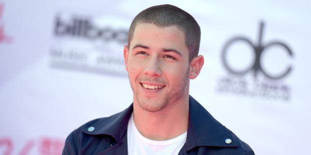 Nick Jonas arrives at the Billboard Music Awards. Photo / AP