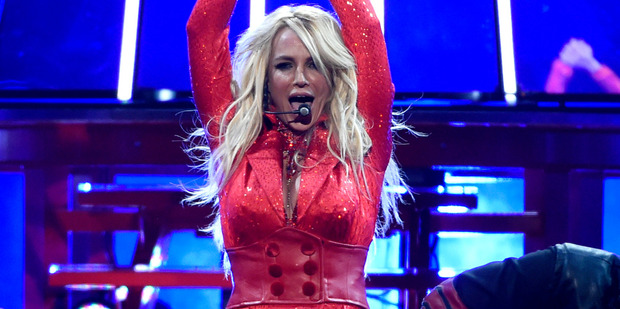 Britney Spears performs at the Billboard Music Awards. Photo / AP