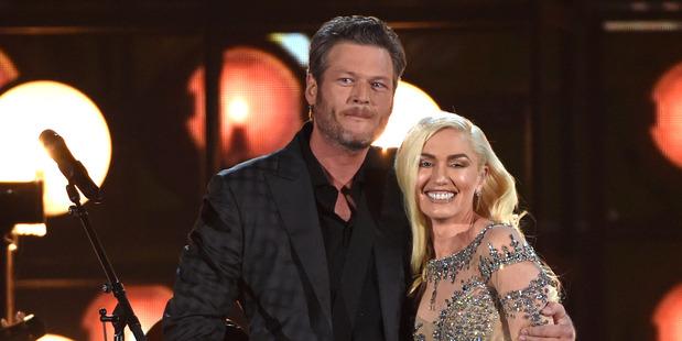 Blake Shelton and Gwen Stefani perform at the Billboard Music Awards. Photo / AP