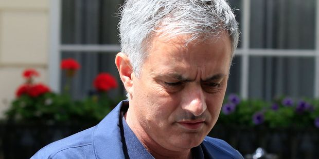 Jose Mourinho will succeed Louis van Gaal, who was sacked two days after winning the FA Cup. Photo / AP