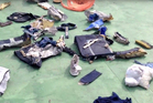 Debris and remains retrieved from the crash site of EgyptAir Flight 804 suggest there was an explosion on board. Photo / AP