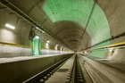 The Gotthard Base Tunnel was first conceived of in 1947. Photo / AP