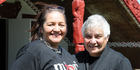 Marama Fox (left) is proud to advance the work of the Maori Party's previous leader, Tariana Turia. Photo / Lewis Gardner
