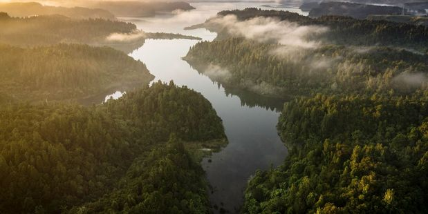Lake Rotoehu. PHOTO/STEPHEN PARKER