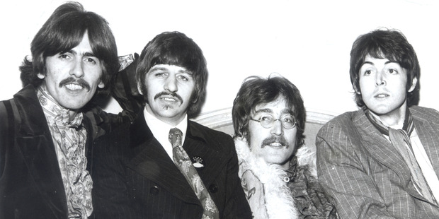 (From left) George Harrison, Ringo Starr, John Lennon and Sir Paul McCartney. Photo / Supplied