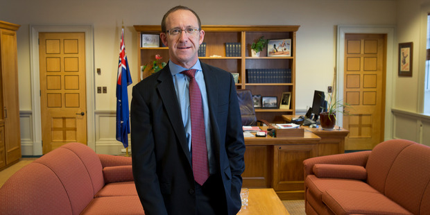 Labour Party leader Andrew Little in his office at Parliament, Wellington. Photo / Mark Mitchell