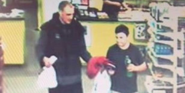 Loading CCTV footage showing the last sighting of Alex Fisher with his brother Eric. Photo / Supplied