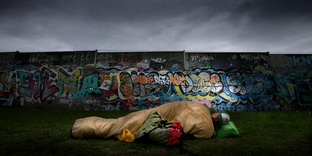 Many people are sleeping rough in Tauranga amid a 'housing crisis'. Photo/Andrew Warner