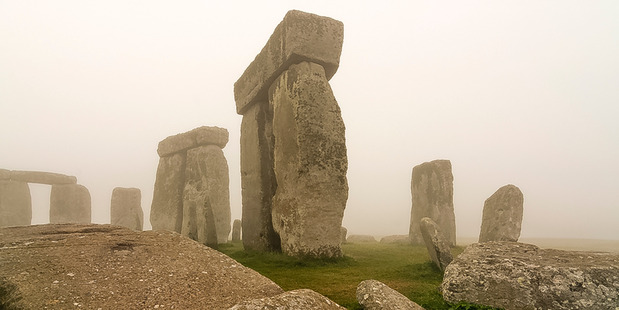 The Stonehenge monument in the west of England. Photo / Supplied