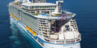"Harmony of the Seas has been branded a floating ""construction site"". Photo / Supplied"