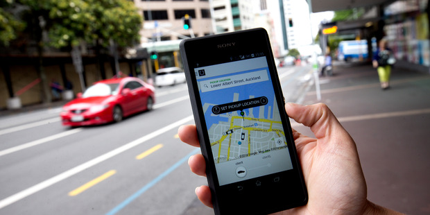 The battery life on a user's phone influences whether they're more likely to accept surge pricing, Uber says. Photo / NZME