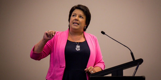 Climate Change Minister Paula Bennett urged businesses to think twice about passing on the costs of their climate change obligations. Photo / Dean Purcell