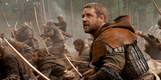 Russell Crowe as Robin Hood (2010)