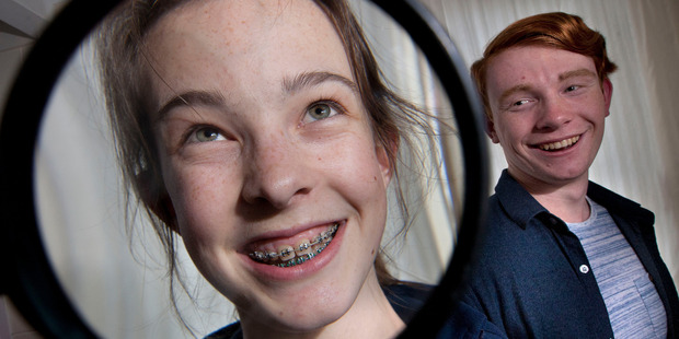 Rotorua student Anna Pilaar, 16, will spend up to four years in braces. Her mum says the time and money will be well worth it for her daughter's self-esteem.  Photo/Ben Fraser