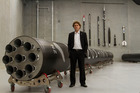 Rocket Lab chief executive Peter Beck. Photo Geoff Dale