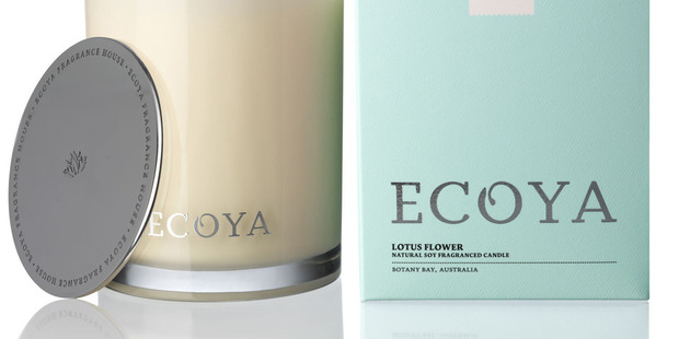 The Ecoya home fragrance unit boosted sales 23 per cent to $20.1 million and boosted earnings 99 percent to $2.5 million.