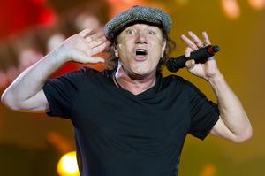 AC/DC singer became deaf from crystallised fluids