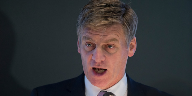 Loading Bill English doesn't appear to have taken the improved balance sheet as a green light for increased spending. Photo / Mark Mitchell