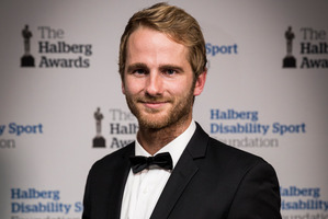 Black Cap Kane Williamson is a great role model for young Kiwi kids. Photo / Dean Purcell.