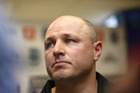 Warriors coach Andrew McFadden. Photo / Doug Sherring.