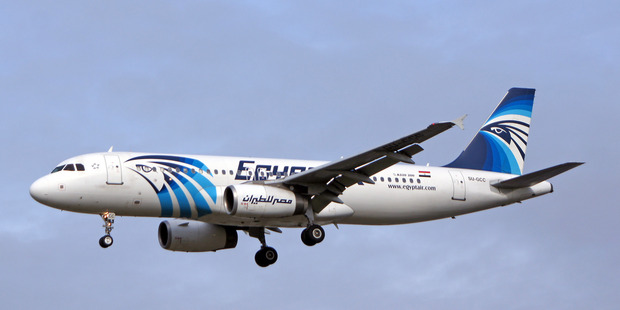 Loading EgyptAir flight MS804 disappeared from radar just 10 minutes from landing. Photo / Supplied