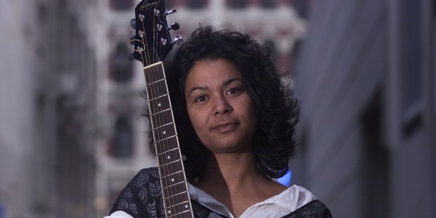 Singer/songwriter Emma Paki. Photo / Glenn Jeffrey