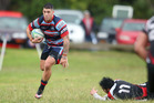 Rotoiti player Matt Landers (in action last weekend) and his side are on the hunt for their fifth win in a row against Rangataua away today.