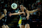 Silver Ferns player Grace Rusmussen in action.  Photo/FILE