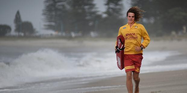 Surf lifesaver Kane Sefton. Photo/file