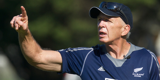 Coach Gordon Tietjens is under no illusions about where his team are at, but was able to put the disappointment into clear perspective. Photo / Alan Gibson