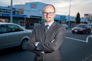 Councillor Steve Morris.