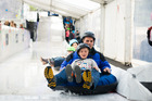 The Taupo Winter Festival will see many activities and events including the ice slide.  Photo/File