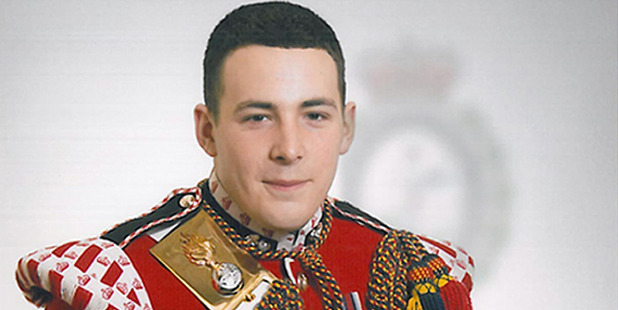 Lee Rigby of the Royal Regiment of Fusiliers, was attacked and killed by Michael Adebolajo and Michael Adebowale on the afternoon of May 22 2013. Photo / Supplied