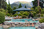 The first bathhouse was built in Hanmer Springs in 1883.