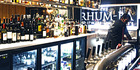 Choose from more than 100 rums at The Rhum-ba, Denarau Yacht Club.