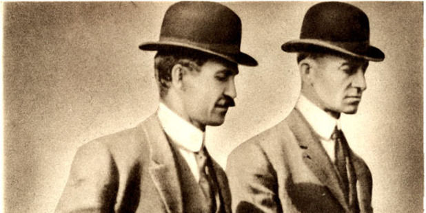 The Wright Brothers. Photo / Supplied