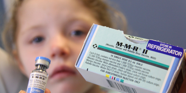 A close up photo of the MMR (Measles Mumps and Rubella Virus vaccine). All children need two doses, first at 15 months. Photo/file